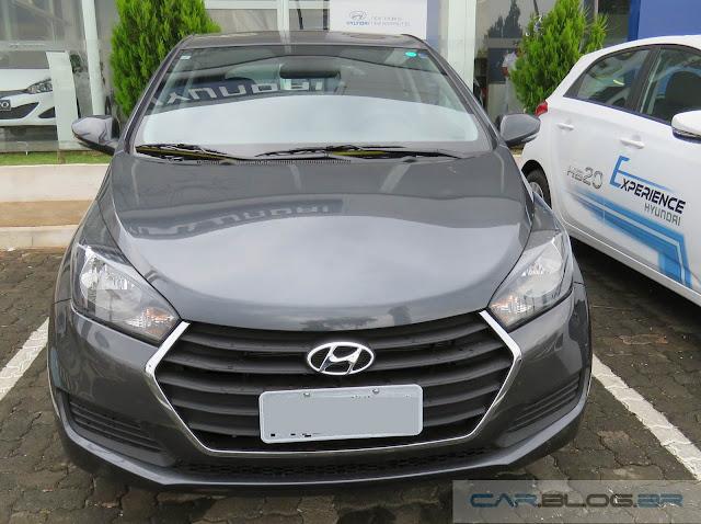 Hyundai HB20 2016 - Cinza Metálico