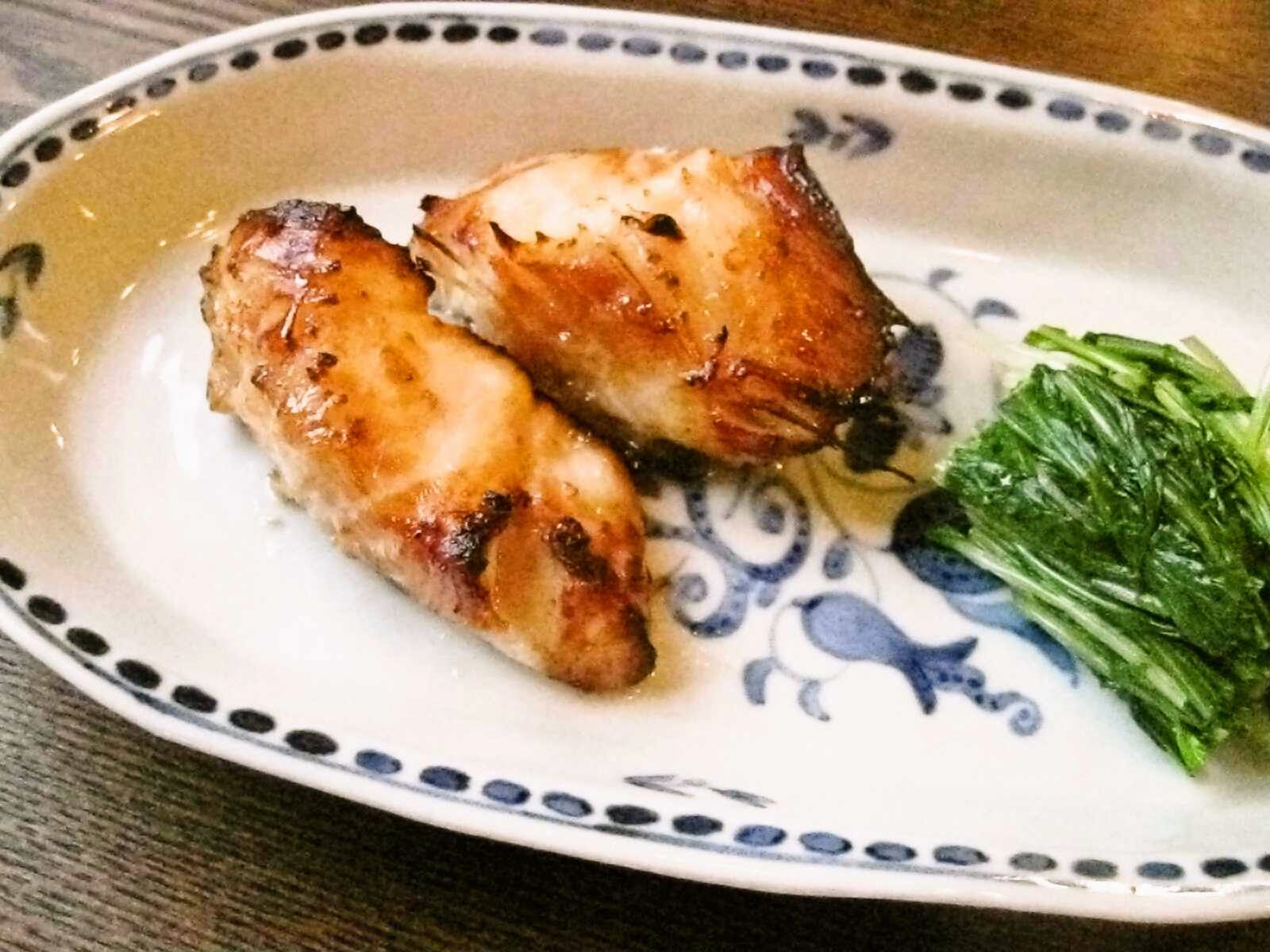 Recipes for TomGindara no shogajoyu-yaki / grilled black cod