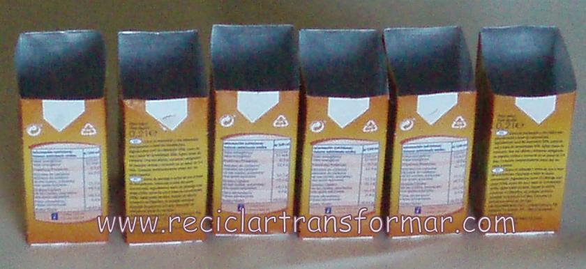 Tutorial: Tetra Pack pequeños y grandes   Reciclar y Transformar ...