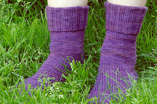 I sometimes wear purple socks in memory of my father.