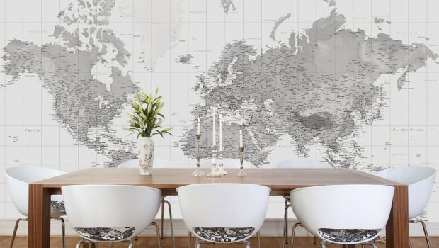 Viajar desde casa decora con mapas 4brujillasymedia for Piani casa bagno jill e jill