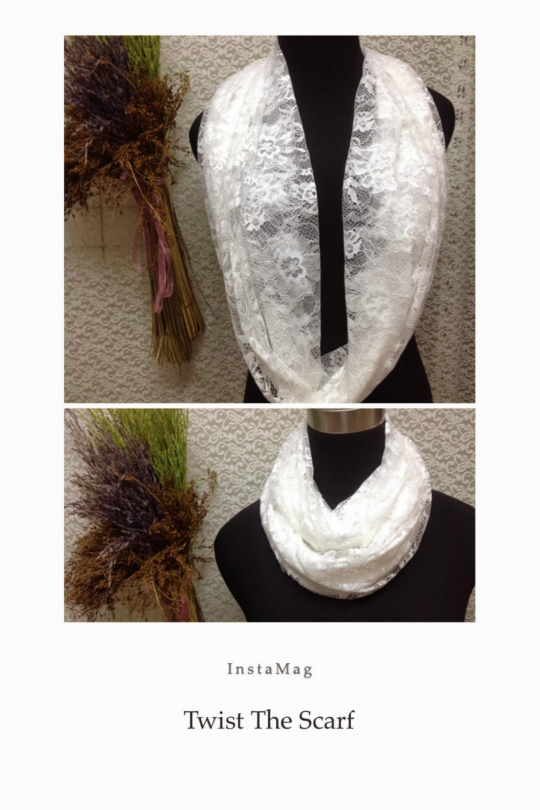 Wedding Lace Scarf