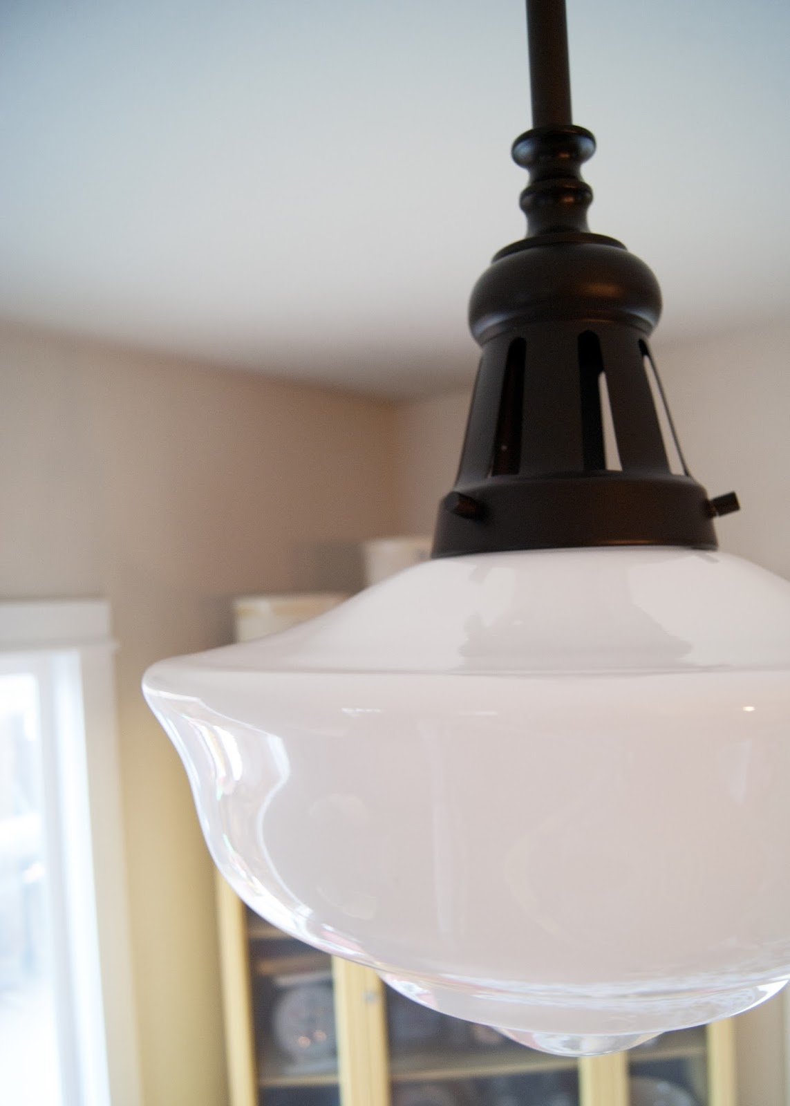 Schoolhouse light - vintage inspired light