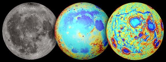NASA: pod powierzchniąKsiężyca znajduje się wielki kwadratowy kształt