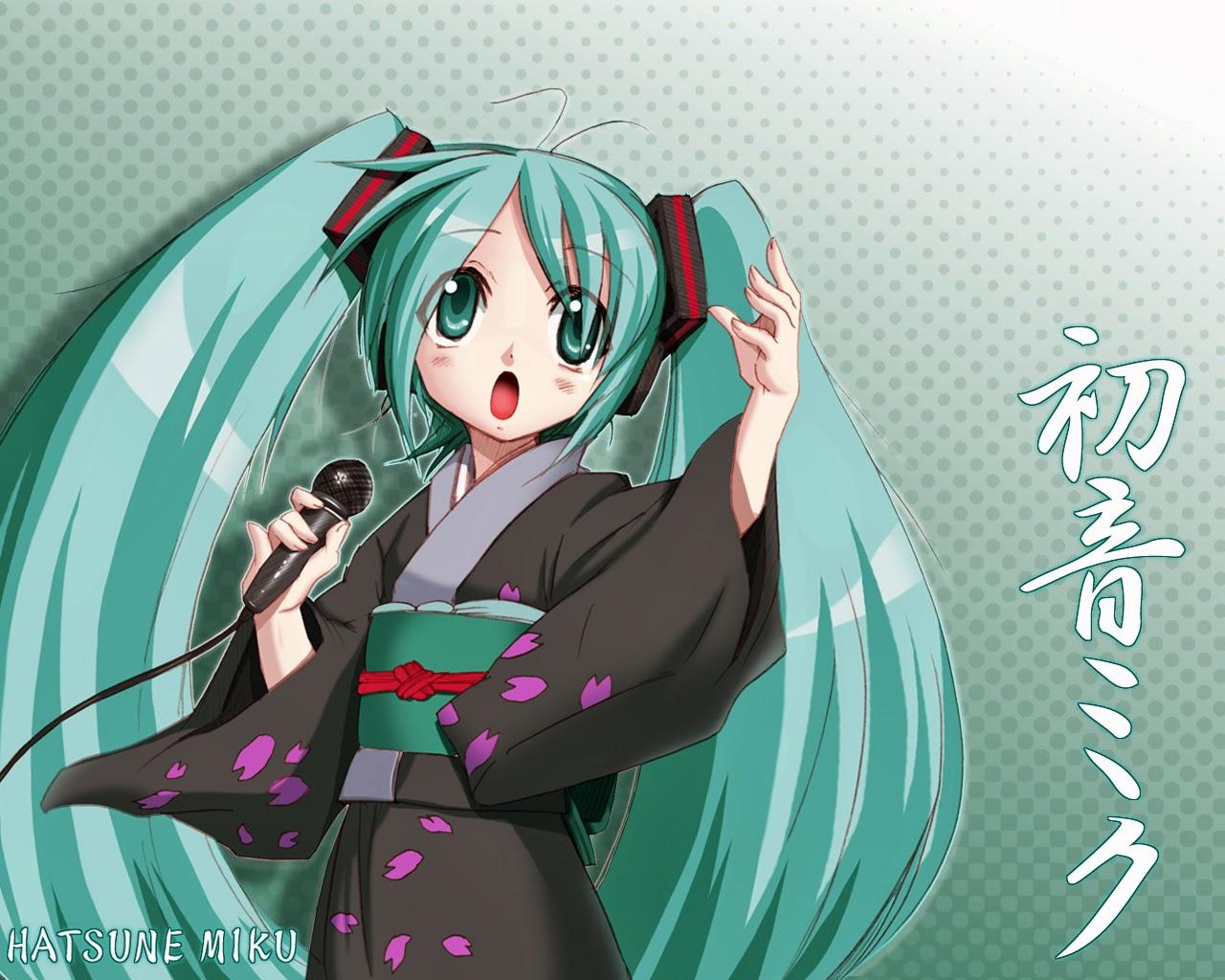 Hatsune Miku - Vocaloid HD Wallpaper