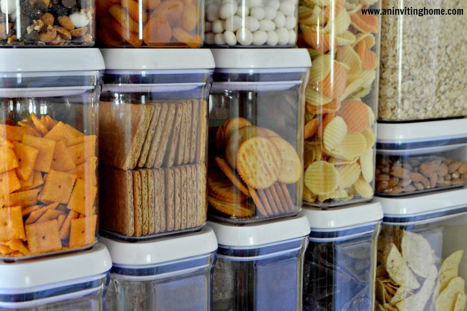 clear containers for pantry