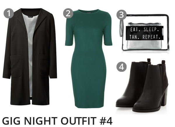 Gig Night Music Concert Outfit