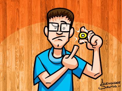 Ilustração digital - por Alexander Santos