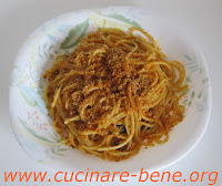 ricetta spaghetti alici e finocchietto