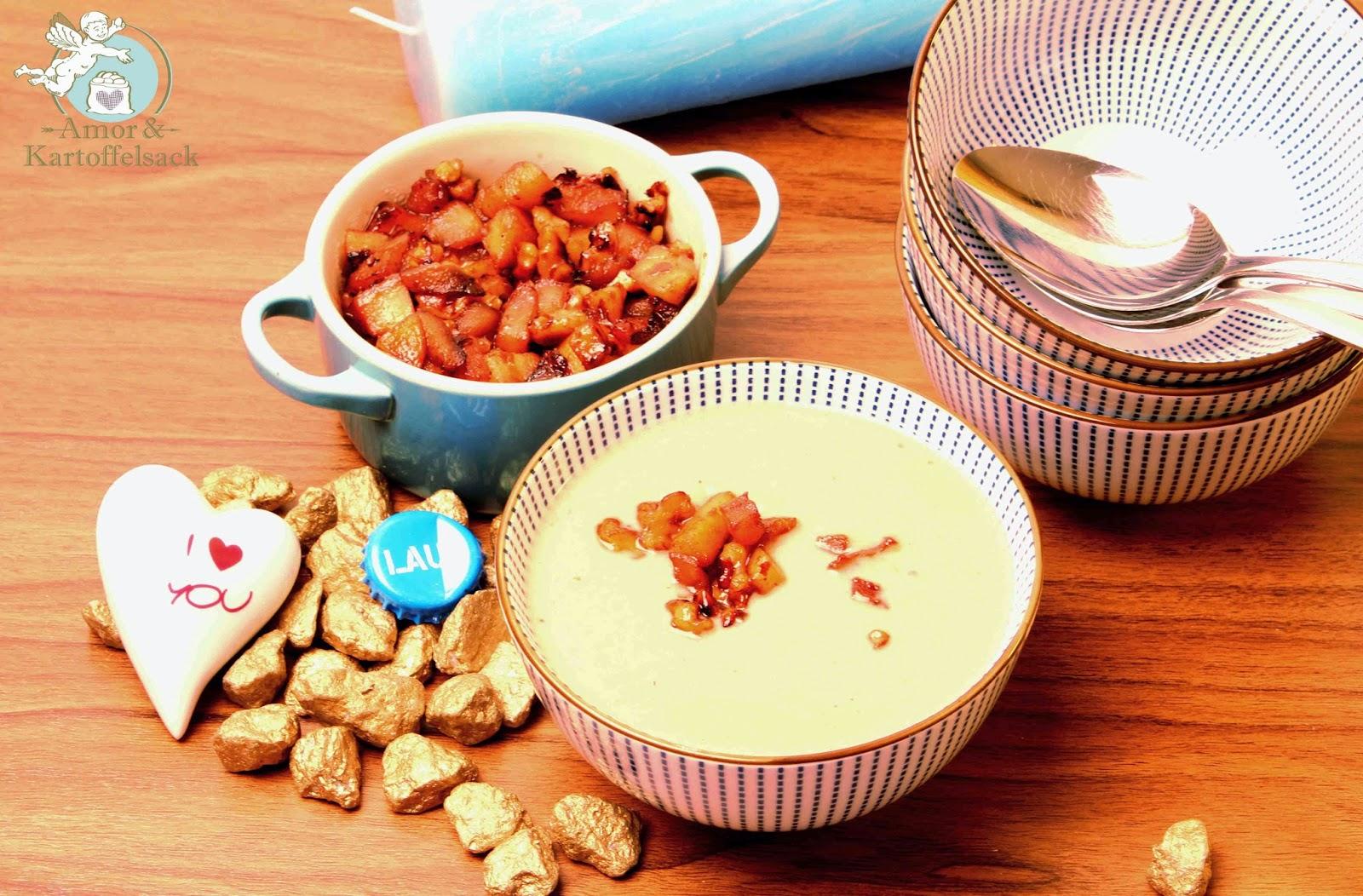 cremige Suppe ohne Sahne oder Milch