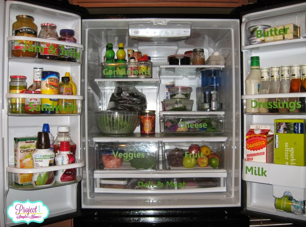 Day 21 Fridge 31 Days Of Easy Decluttering From Overwhelmed To