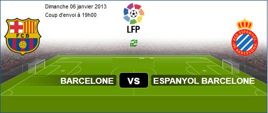 Espagne Liga BBVA : Regarder Match En Direct Fc Barcelona vs Espanyol ...