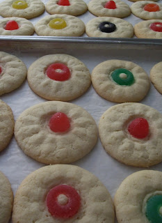 Sugar Cookies W/Jelly Candies