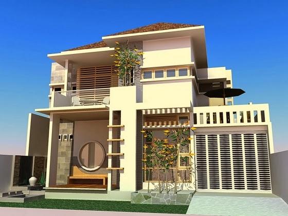Kombinasi Warna Desain Eksterior Rumah Minimalis