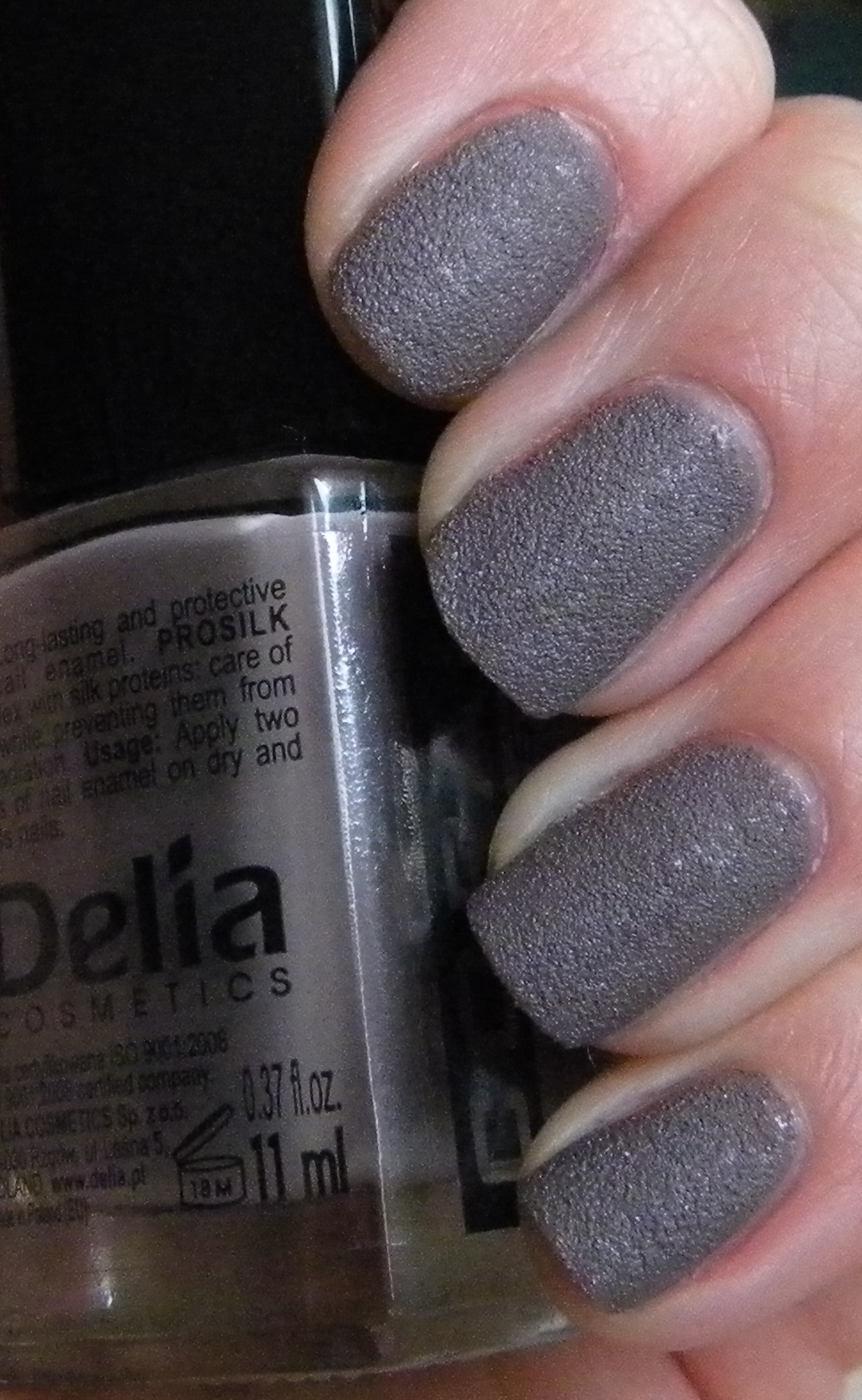 Delia Coral Prosilk efekt piasku S02 i S03