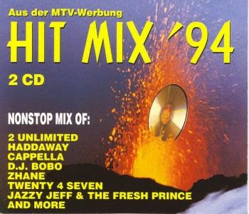HIT MIX \'94  (2CD Set) 35 original artists non-stop mix (Album) 1994 Eurodance Hi-NRG Electro Italo Disco House Eurobeat 90\'s \