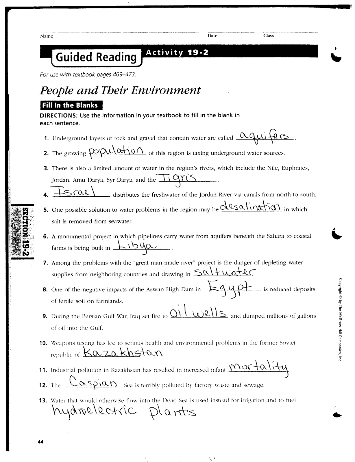 mr e s world geography page world geography chapter 19 north rh acewg blogspot com guided reading activity 19-2 answers guided reading activity 19-2 us history answers