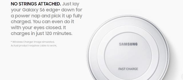 Wireless Charging Galaxy S6 Edge Plus