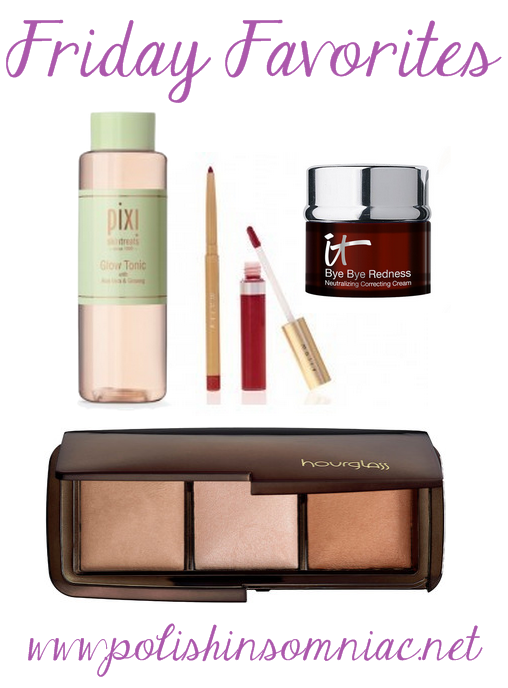 Friday Favorites for Glowing Skin and Red Lips!