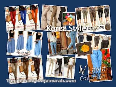 Grosir Celana Model Korea Murah