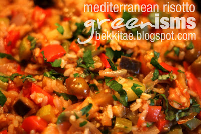 Mediterranean Vegetable Risotto