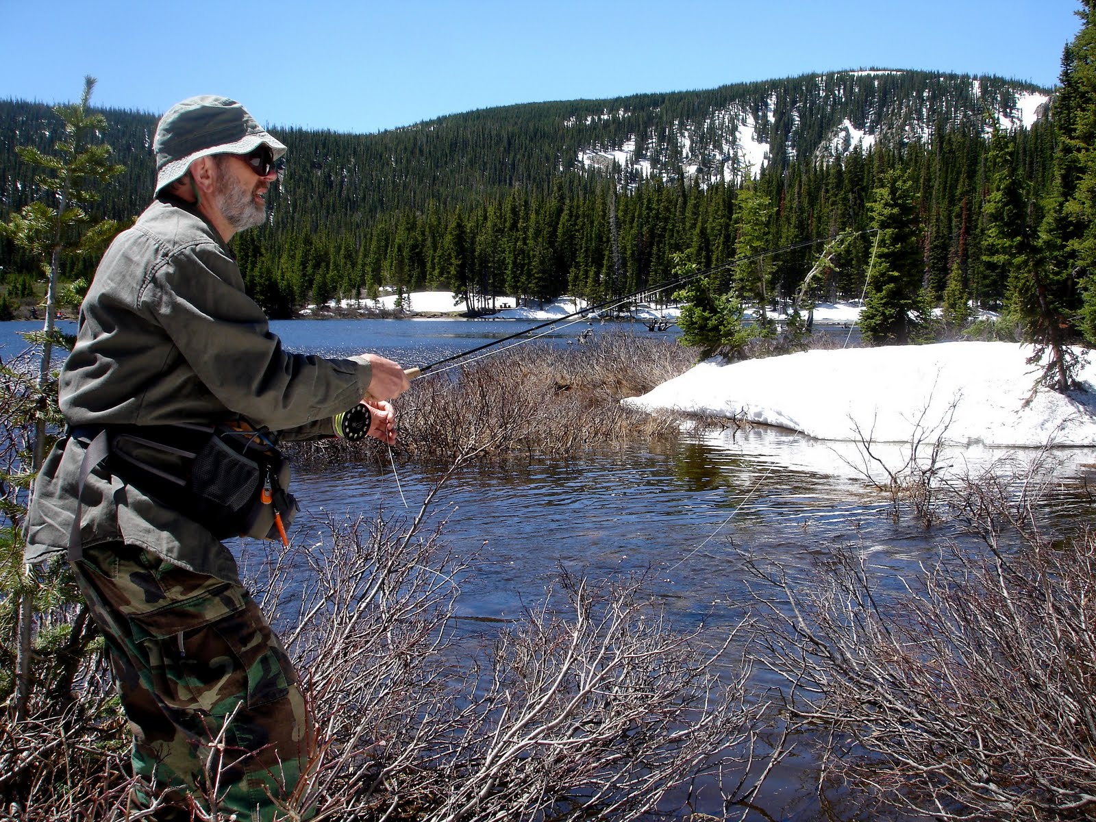 Colorado fly fishing reports june 2011 for Colorado fly fishing reports