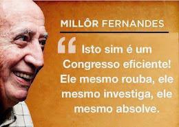 """""""Isto sim é um Congresso eficiente! Ele mesmo rouba, ele mesmo investiga, ele mesmo absolve""""."""