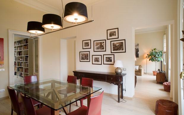 Appartamento neoborghese studio gambaro rotondo for Modi di ingresso alle case