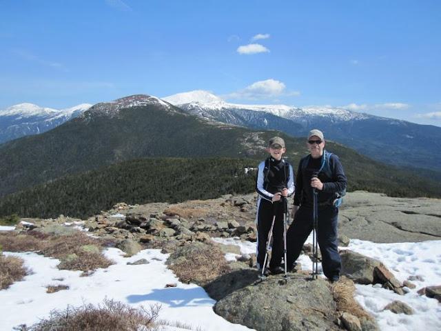 Mount Washinton behind Mount Eisenhower