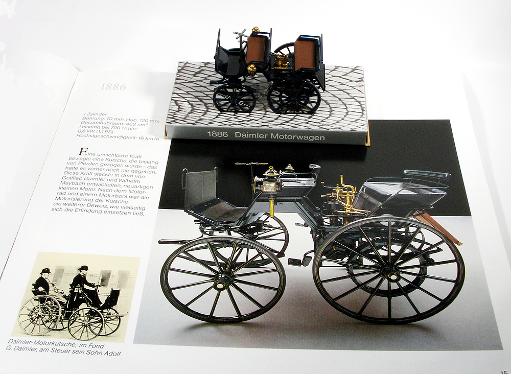 H0 Klassiker: Daimler Motorwagen 1886 (5)