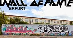 street art und graffiti fotos erfurt