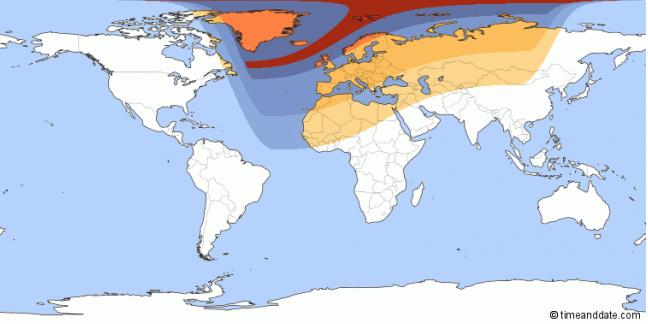 eclissi solare mappa