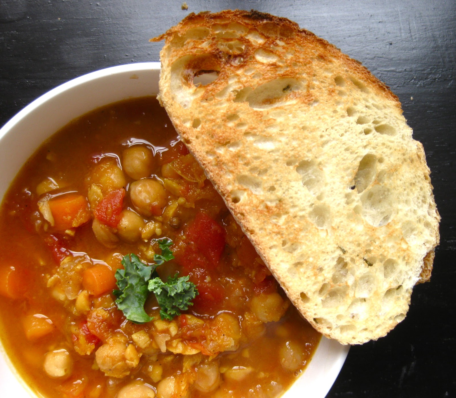 Stew or a Story: Moroccan Chickpea Stew