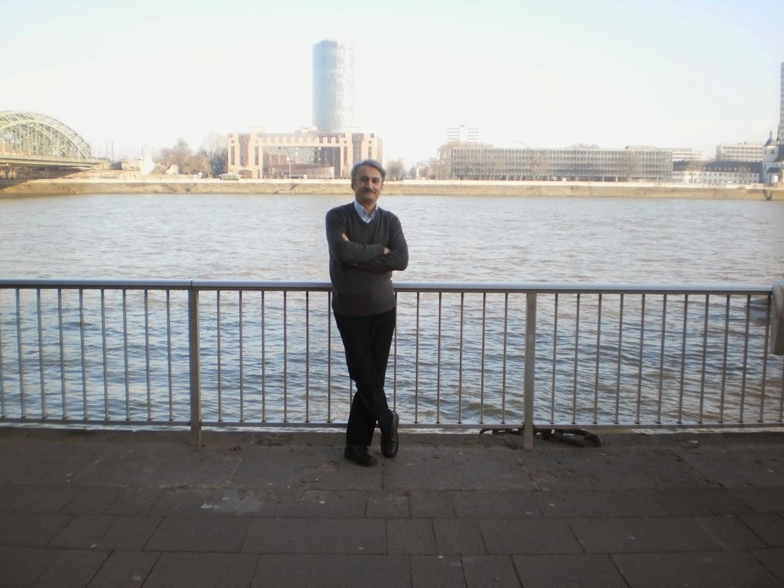 مسعود بیزارگیتی-آلمان(کلن)-بر کرانهی رودخانه راین