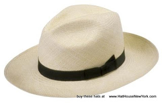 Natural color authentic Panama Hat from The Hat House NY