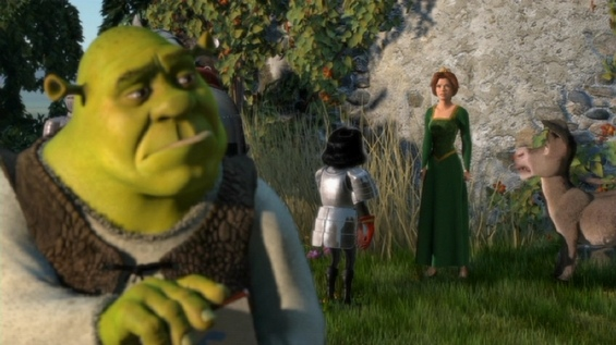Shrek, Fiona and Donkey movieloversreviews.blogspot.com