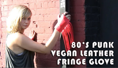 80's punk fringe glove video tutorial