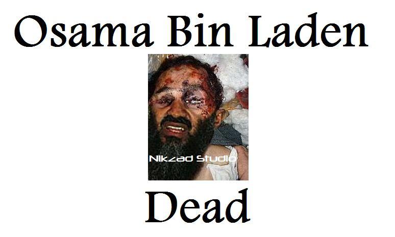 Osama Bin Laden dead body. Death of Osama Bin Laden