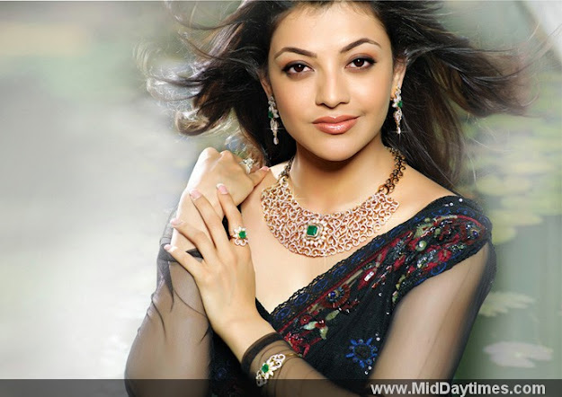 Kajal agarwal advertising a diamond necklace  -   Kajal Agarwal Latest Stills