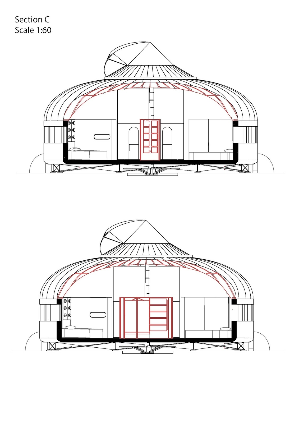 how to build a dymaxion house