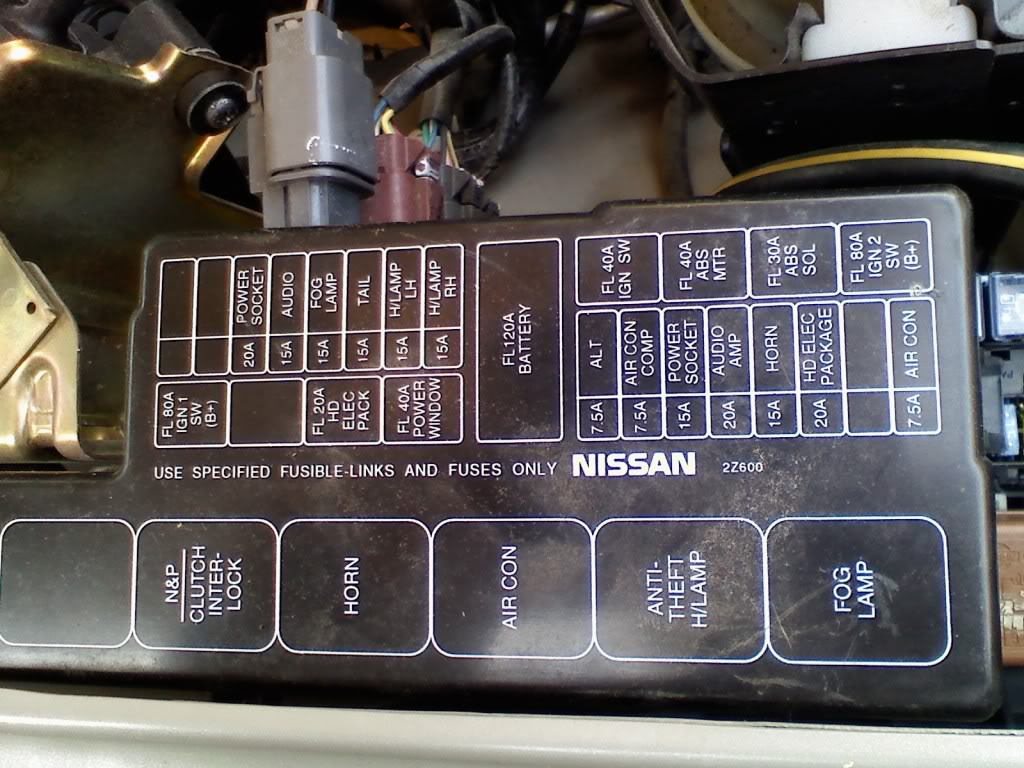 Schematics And Diagrams  Nissan Fog Lamp Relay And Fuse Box