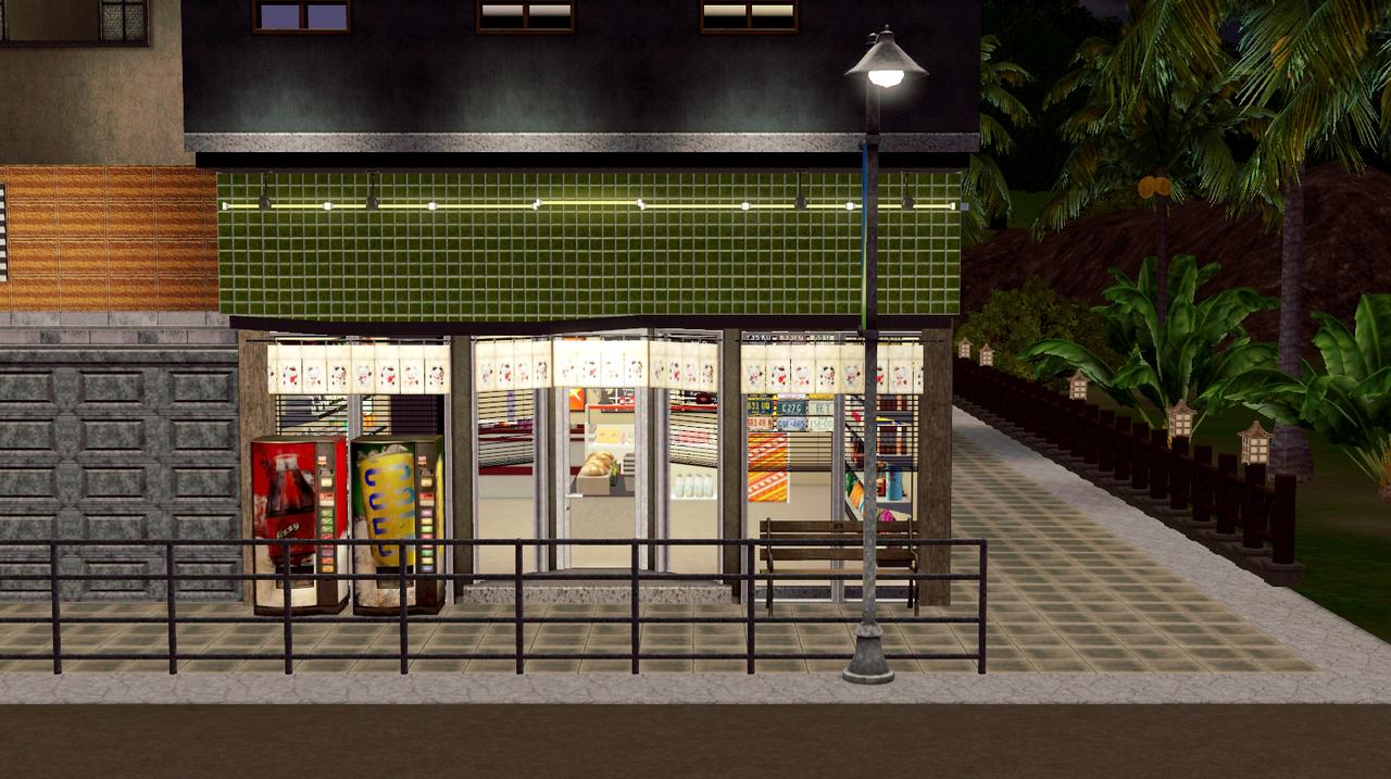 My Sims 3 Blog Sleepy Apartments A 30x30 Community Lot