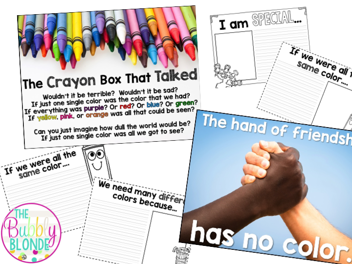 http://www.teacherspayteachers.com/Product/The-Crayon-Box-That-Talked-Writing-Papers-191830