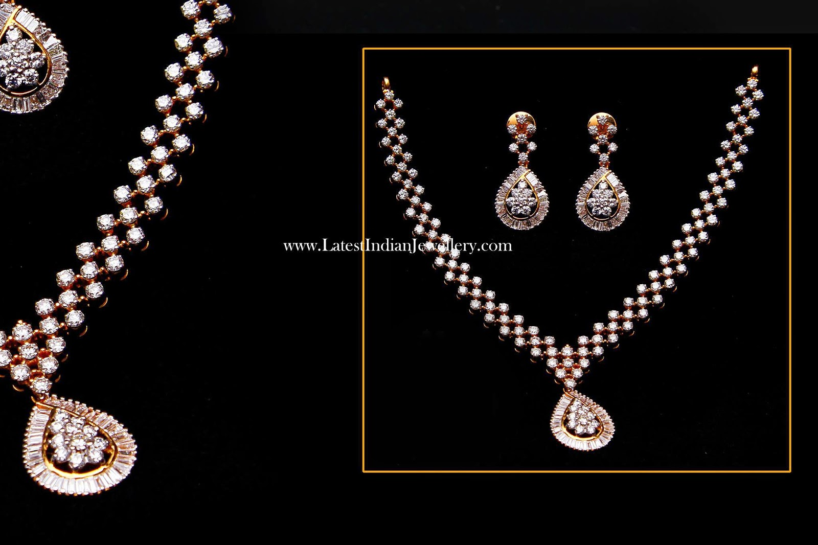 Glamorous Indian Diamond Set