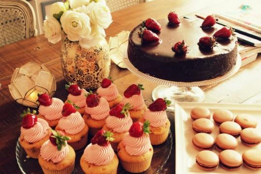 Cuisine of d la vie en rose for Cuisine en rose