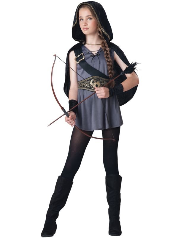 cute kid with arrow and bow halloween amazing costume