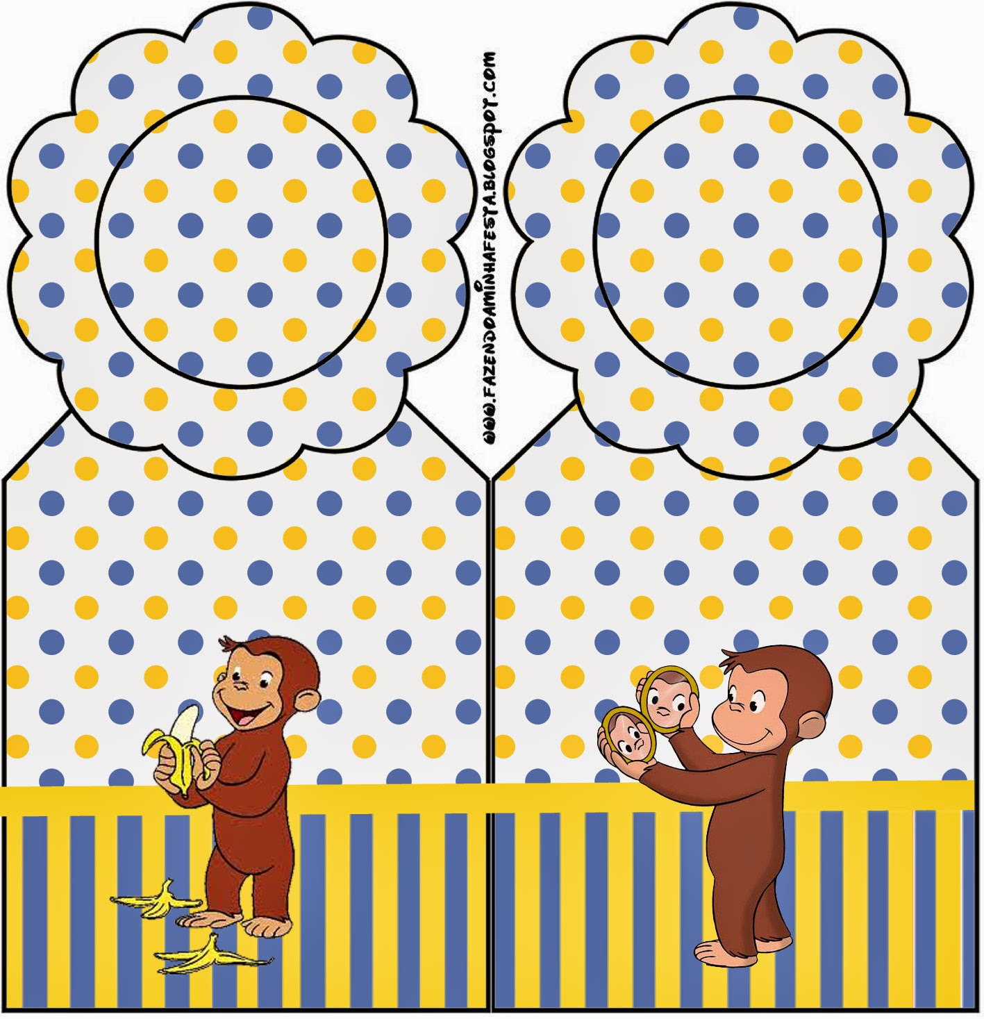 Curious George Printable Invitations as perfect invitations layout