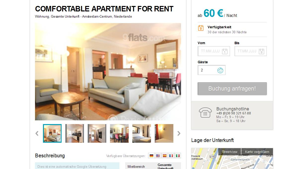 Rent Room Amsterdam Craigslist