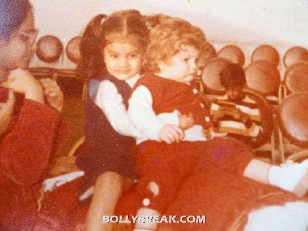 Neil had blone hair as a baby - (2) -  Neil Nitin Mukesh childhood pics