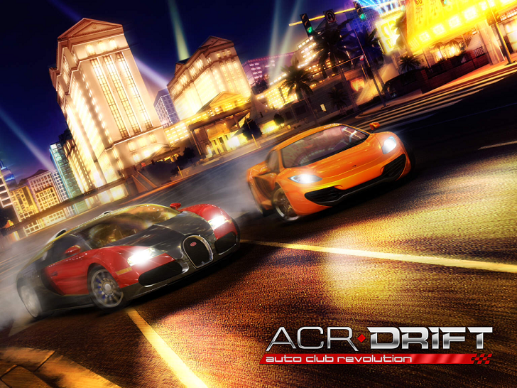 ACR DRIFT Game App By CROOZ Inc